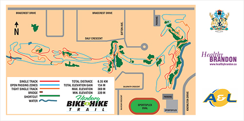 Map of Bike Paths