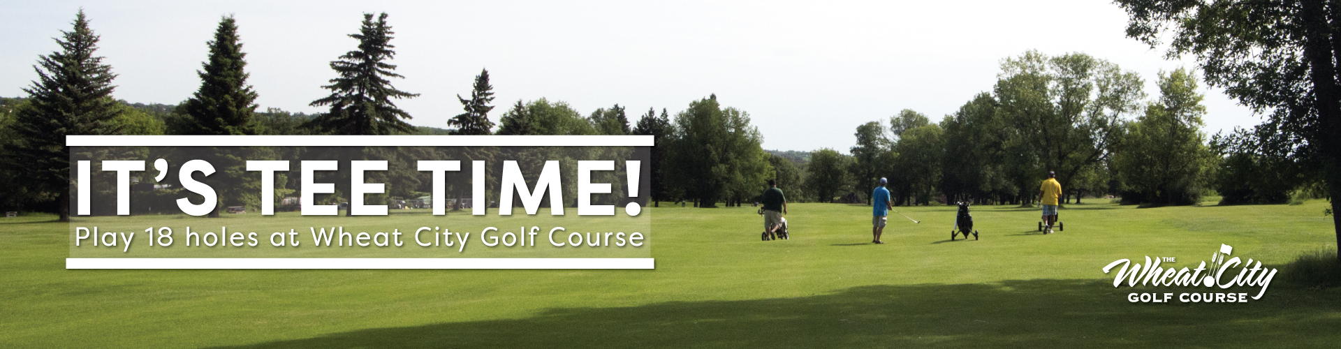 Wheat City Golf Course - banner