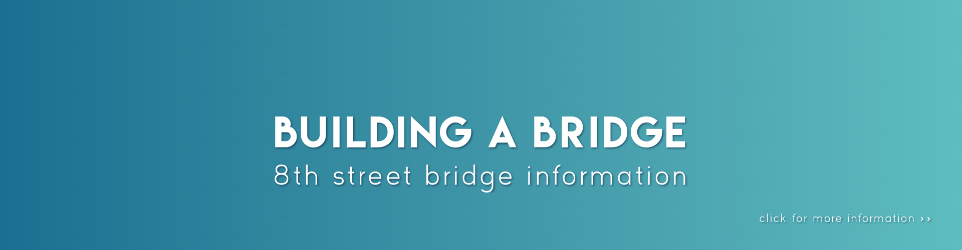 Building a Bridge banner