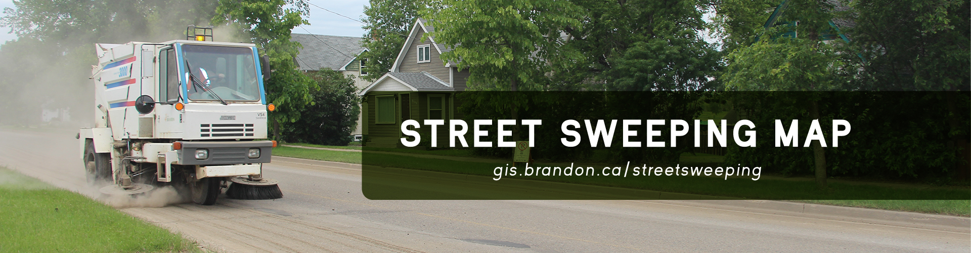 Street Sweeping Banner